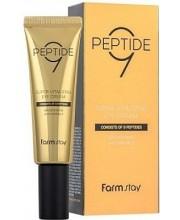 Антивозрастной крем для глаз с пептидами FarmStay Peptide9 Super Vitalizing Eye Cream