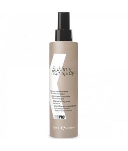 Несмываемый спрей для восстановления поврежденных волос KayPro Sublime Hair Spray 200 мл