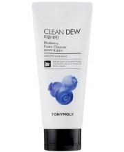 Пенка для умывания с черникой Tony Moly Clean Dew Foam Cleanser Blueberry