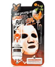 Маска омолаживающая с женьшенем Elizavecca Red Ginseng Deep Power Ringer Mask Pack