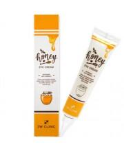 Крем питательный для век с экстрактом меда 3W Clinic Honey Eye Cream 40 мл