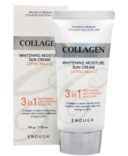 Солнцезащитный крем с 3 в 1 Enough Collagen Whitening Moisture Sun Cream 3 in 1 SPF50+ PA+++