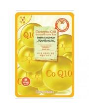 Маска-салфетка для лица Коэнзим Q10 BeauuGreen Contour 3d Coenzym Q10