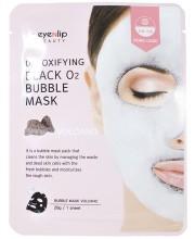 Пузырьковая очищающая маска Eyenlip Detoxifying Black O2 Bubble Mask Volcano
