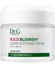 Успокаивающий крем для лица с экстрактом центеллы Dr.G R.E.D Blemish Clear Soothing Cream