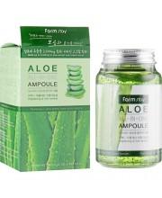 Сыворотка многофункциональная ампульная с алоэ вера Farmstay Aloe All-in one ampoule 250 мл