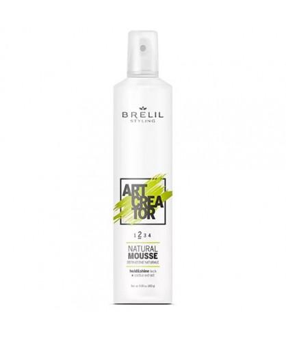 Мусс для волос натуральной фиксации Brelil Art Creator Natural Mousse 2
