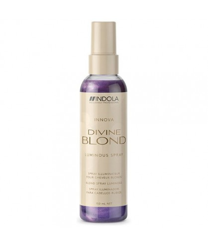 Нейтрализирующий спрей-кондиционер для волос Indola Divine Blond Luminous Spray