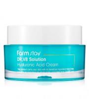 Крем увлажняющий с гиалуроновой кислотой FarmStay Dr-V8 Solution Cream(Hyaluronate) 50 мл