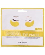 Патчи для глаз гидрогелевые с золотом BeauuGreen Eye Patch Collagen & Gold Hydrogel, 1 пара