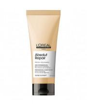 Кондиціонер для відновлення волосся LOreal Absolut Repair Gold Qiunoa