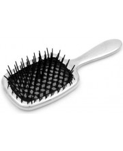 Расчёска Janeke Superbrush серебро черная серединка CRSP230