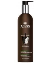 Шампунь від випадіння волосся з екстрактом розмарину Angel Professional Black Angel
