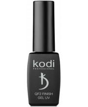 Фініш-гель без липкого шару Kodi Professional QF2 Finish UV Gel, 8 мл
