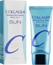Увлажняющий солнцезащитный крем с коллагеном Enough Collagen Moisture Sun Cream SPF50+