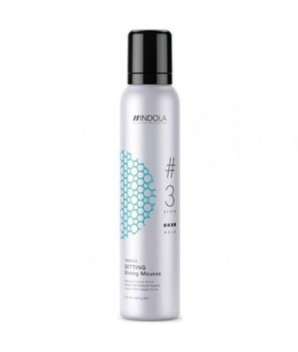 Мус для волосся сильної фіксації Indola Innova Setting Strong Mousse