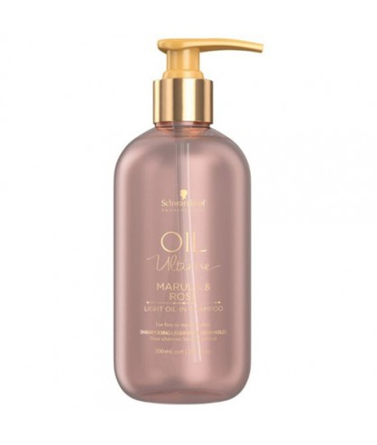 Шампунь для тонких и нормальных волос с маслом марулы Schwarzkopf Oil Ultime