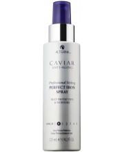 Спрей для использования с утюгом для волос с экстрактом Черной икры Alterna Caviar Anti-Aging Perfect Iron Spray
