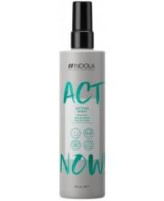 Термозащитный спрей Indola Act Now Setting Spray