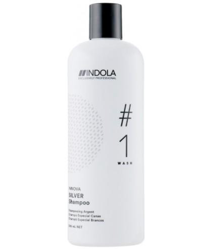 Шампунь для фарбованого волосся з сріблястим ефектом Indola Innova Color