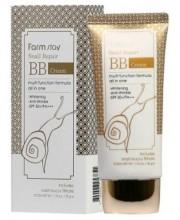 Многофункциональный BB-крем с экстрактом улитки FarmStay All-in one Snail Sun BB Cream