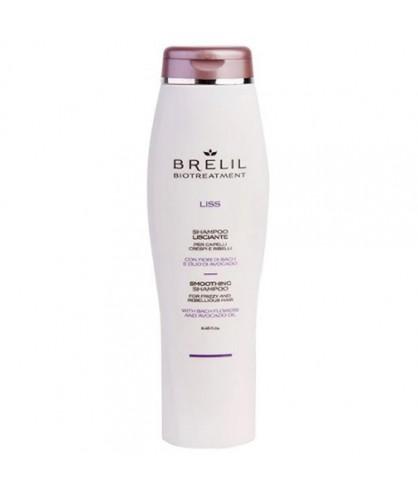 Шампунь для волосся розгладжуючий Brelil Bio Traitement Liss