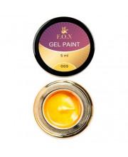 Гель-краска F.O.X Gel Paint, 5 мл