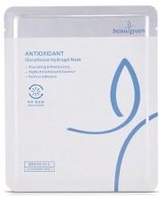 Гидрогелевая маска для лица с глутатионом BeauuGreen Antioxidant Glutathione Hydrogel Mask