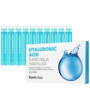 Питательный филлер для волос с гиалуроновой кислотой Farmstay Hyaluronic Acid Super Aqua Hair Filler