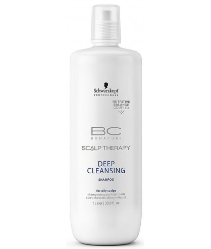 Шампунь для глубокой очистки волос Schwarzkopf BC Scalp Genesis Deep Cleansing