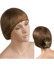 Сеточка для волос коричневая Eurostil 01049/76