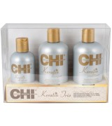 Набор для волос CHI Keratin (шампунь+кондиционер+шелк) CHI Keratin