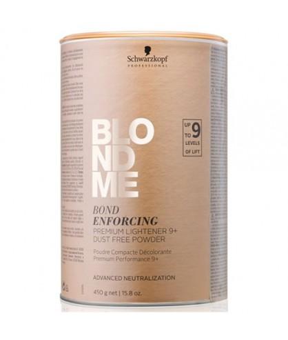 Освітлююча бондинг-пудра Schwarzkopf Blondme Bond Enforcing Premium Lightener 9+