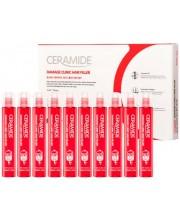 Восстанавливающий филлер для волос с керамидами FarmStay Ceramide Damage Clinic Hair Filler