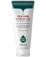 Пенка для умывания с экстрактом центеллы азиатской Farmstay Cica Farm Nature Solution