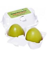Мыло с зеленым чаем Holika Holika Green Tea Egg Soap