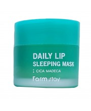 Ночная маска для губ с центеллой Farmstay Daily Lip Sleeping Mask Cica Madeca Mini 3 г