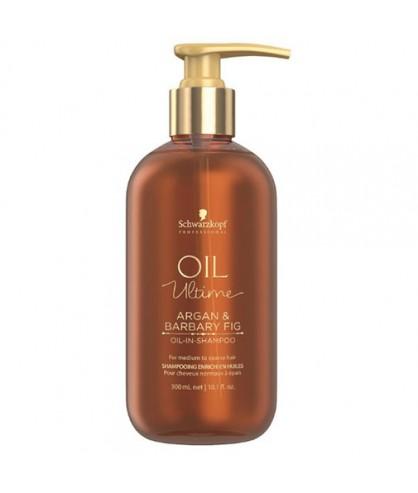 Шампунь для нормальных и жестких волос с маслом аргана Schwarzkopf Oil Ultime