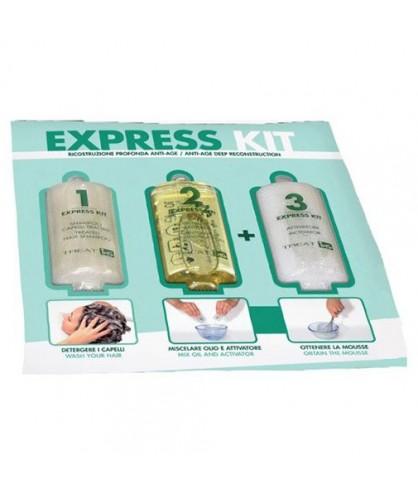 Набор для шелкового восстановления волос ING