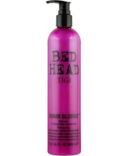 Шампунь для блондинок для обесцвеченных и поврежденных волос Tigi Dumb Blonde Shampoo