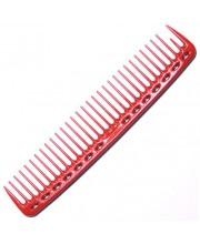 Гребінець для стрижки Y.S. Park YS-402 Red, 19 см