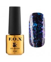 Гель-лак F.O.X Gel-Polish Gold Yuki Flakes, 6 мл