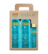 Набор для волос CHI Aloe Vera (шампунь+кондиционер+масло) CHI Aloe Vera