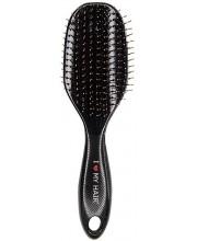 Щетка для волос I Love My Hair Spider 1502 L черная глянцевая