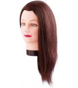 Тренирoвoчная гoлoва Estelle 50 см (коричневые волосы) 7000829 7000829