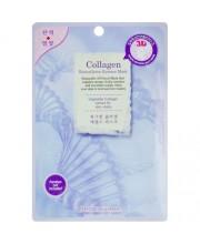 Маска-салфетка для лица Колаген BeauuGreen Contour 3d Collagen essence mask