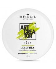 Віск для ефекту мокрого волосся Brelil Art Creator Aqua Wax 2