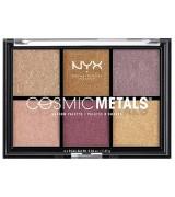 Палетка теней NYX Cosmic Metal Shadow Palette, 6*0,04 г