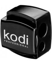 Точилка для карандашей Kodi Professional (черная глянцевая с двумя лезвиями)