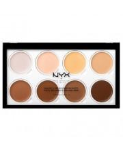 Палітра кремових хайлайтерів NYX Highlight & Contour Cream Pro Palette, 8 * 2 г